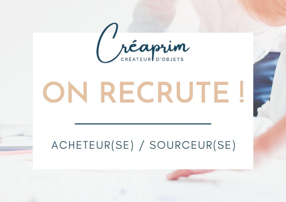 Offre d'emploi : Acheteur(se) / Sourceur(se)