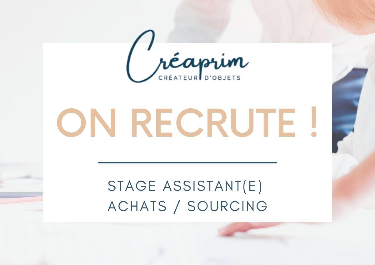 Offre de stage : Assistant(e) Achats / Sourcing